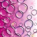 Pink Bubbles by CTCaseDesigns