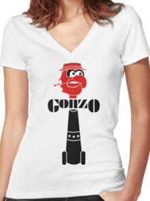 GonzoVSGonzo Women's Fitted V-Neck T-Shirt