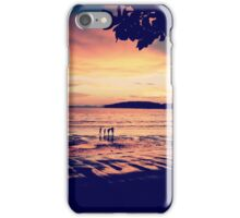 Sunset over Ao Nang Beach, Krabi Thailand iPhone Case/Skin