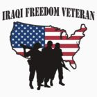 Iraqi Freedom Veteran T-Shirt by HolidayT-Shirts