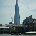 The Shard ( with Millenium Bridge ) by mike  jordan.