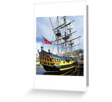 Grand Turk Whitby 2006 Greeting Card