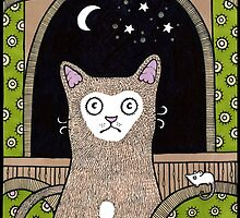 The Moon at my Window by Anita Inverarity