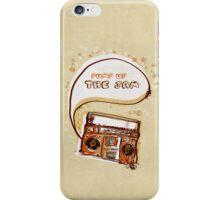 Sometimes I miss Technotronic iPhone Case/Skin
