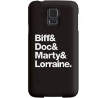 Back to the Future II Marty & Doc Samsung Galaxy Case/Skin