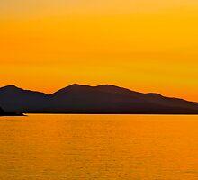 Oban Sunset by Karen Marr