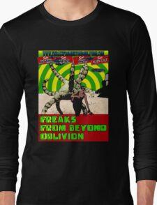 Freaks From Beyond Oblivion Alien Black  Long Sleeve T-Shirt
