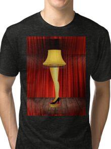 a christmas story leg lamp Tri-blend T-Shirt