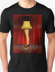 a christmas story leg lamp T-Shirt
