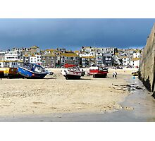 Cornish boats Photographic Print