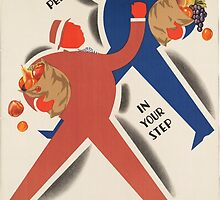 Vintage poster - Eat more fruit by mosfunky
