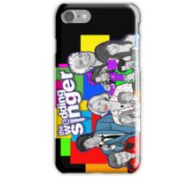 the Wedding Singer character collage iPhone Case/Skin