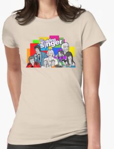 the Wedding Singer character collage Womens Fitted T-Shirt