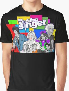 the Wedding Singer character collage Graphic T-Shirt