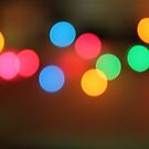 Colourful bokeh  by Domsbubble