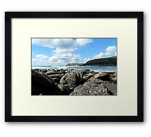 Cornish COAST Framed Print