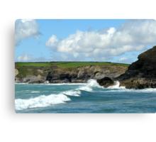 Cornish COAST II Canvas Print