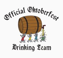 Oktoberfest Drinking T-Shirt by HolidayT-Shirts