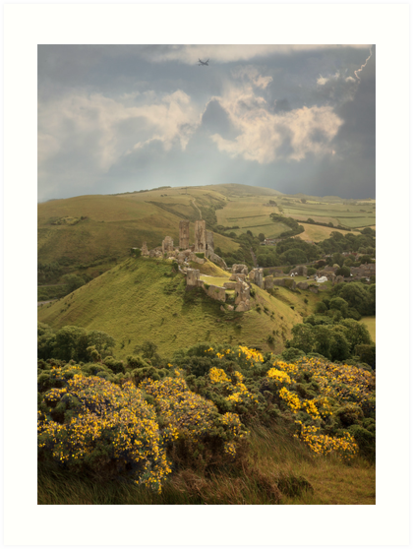 Corfe Castle by Patricia Jacobs CPAGB LRPS BPE4