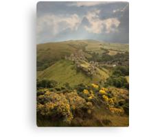 Corfe Castle Canvas Print