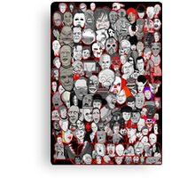 Titans of Horror Canvas Print