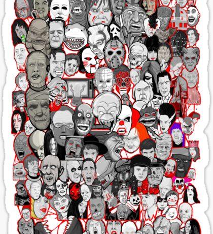 Titans of Horror Sticker