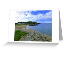 An Irish Cove For Dean Greeting Card