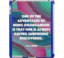 Being Disorganized  iPad Case/Skin