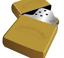 Illustration of a Zippo Lighter by Mdgraphix