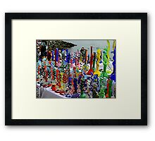 Glass Bongs Framed Print
