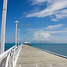 Picnic Bay Jetty, Magnetic Is. Qld, Australia.  by Margaret Stanton