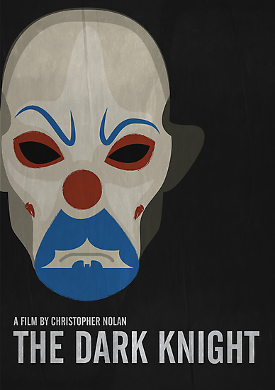 The Dark Knight - Minimalist Movie Poster by minimalistmovie