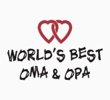 World's Best Oma & Opa T-Shirt T-Shirt