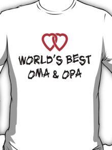 World's Best Oma & Opa T-Shirt T-Shirt