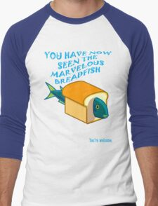 The Marvelous Breadfish Men's Baseball ¾ T-Shirt