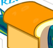 The Marvelous Breadfish Sticker