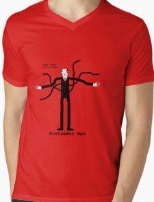 Pretender Man Mens V-Neck T-Shirt