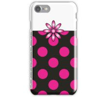 The Katy Phone / Pink Peppermint Polka Dot Parfait iPhone Case/Skin