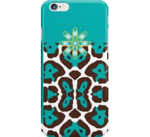The Katy Phone / Tantalizing Turquoise Leopard iPhone Case/Skin