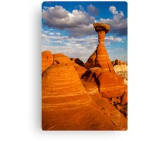 Toadstool Afternoon Canvas Print