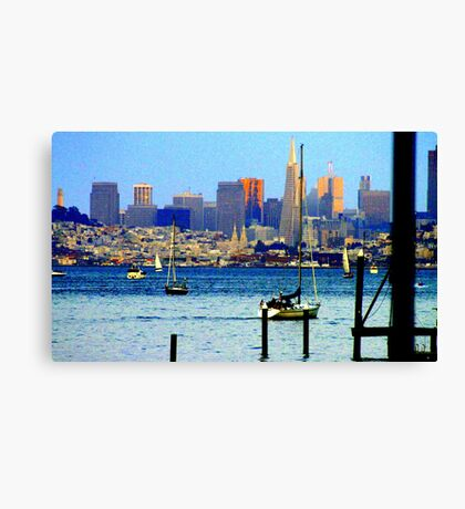 San Francisco Skyline... Canvas Print