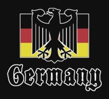 Germany Flag T-Shirt by HolidayT-Shirts