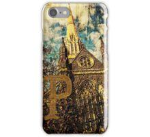 Grungy Melbourne Australia Alphabet Letter P St Patrick's Cathedral iPhone Case/Skin