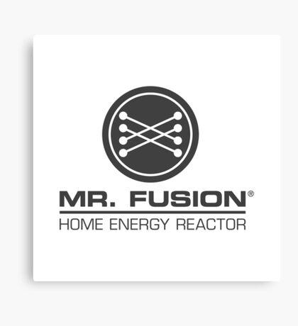 Back to the Future II Mr. Fusion Logo Canvas Print