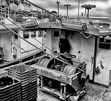 Trawlers in Black and White by Jay Lethbridge