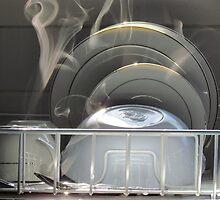 Steaming in white by Ian Ker