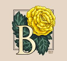 B is for Begonia Womens Fitted T-Shirt