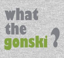what the gonski? One Piece - Long Sleeve