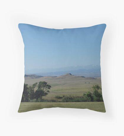 BIG PRAIRIE - BIGGER SKY Throw Pillow