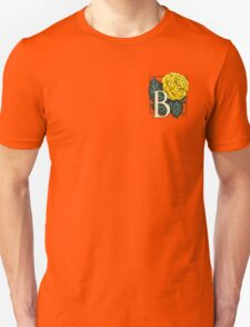 B is for Begonia - patch Unisex T-Shirt